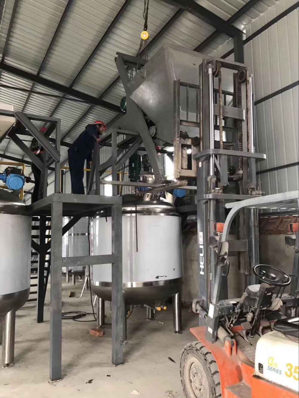 大量元素液体肥生产线