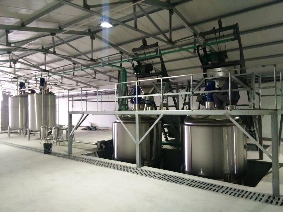 桶装液体肥生产线