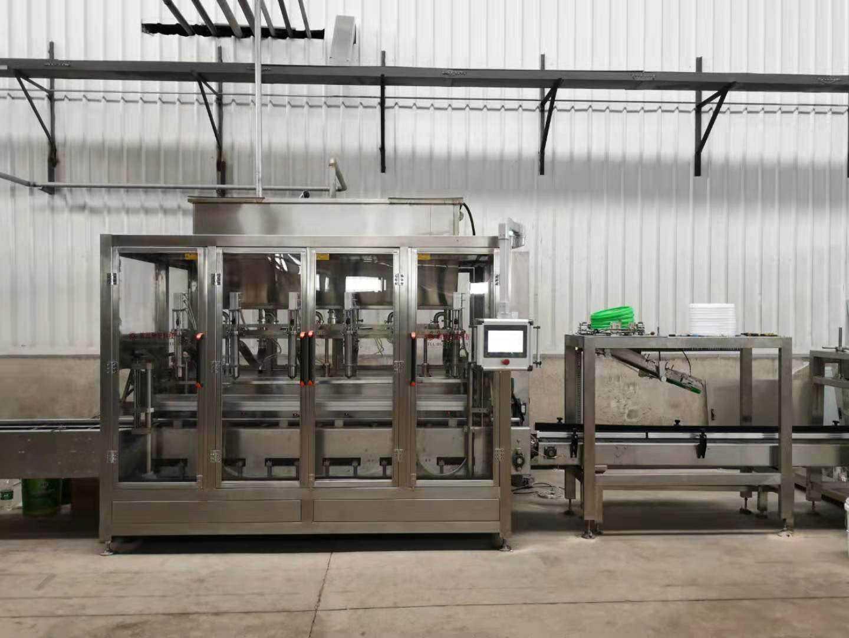 瓶装液体肥生产线